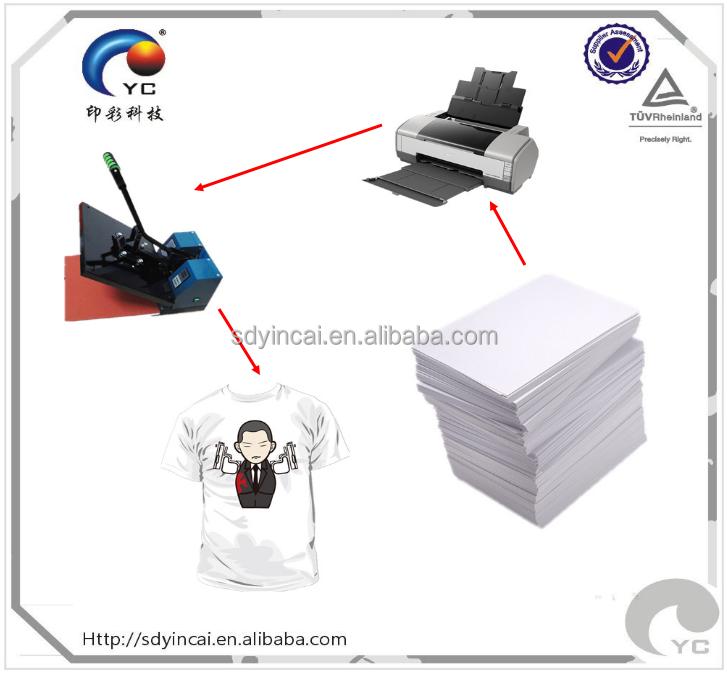 A4 свет для струйной печати татуировки для футболка теплопередача