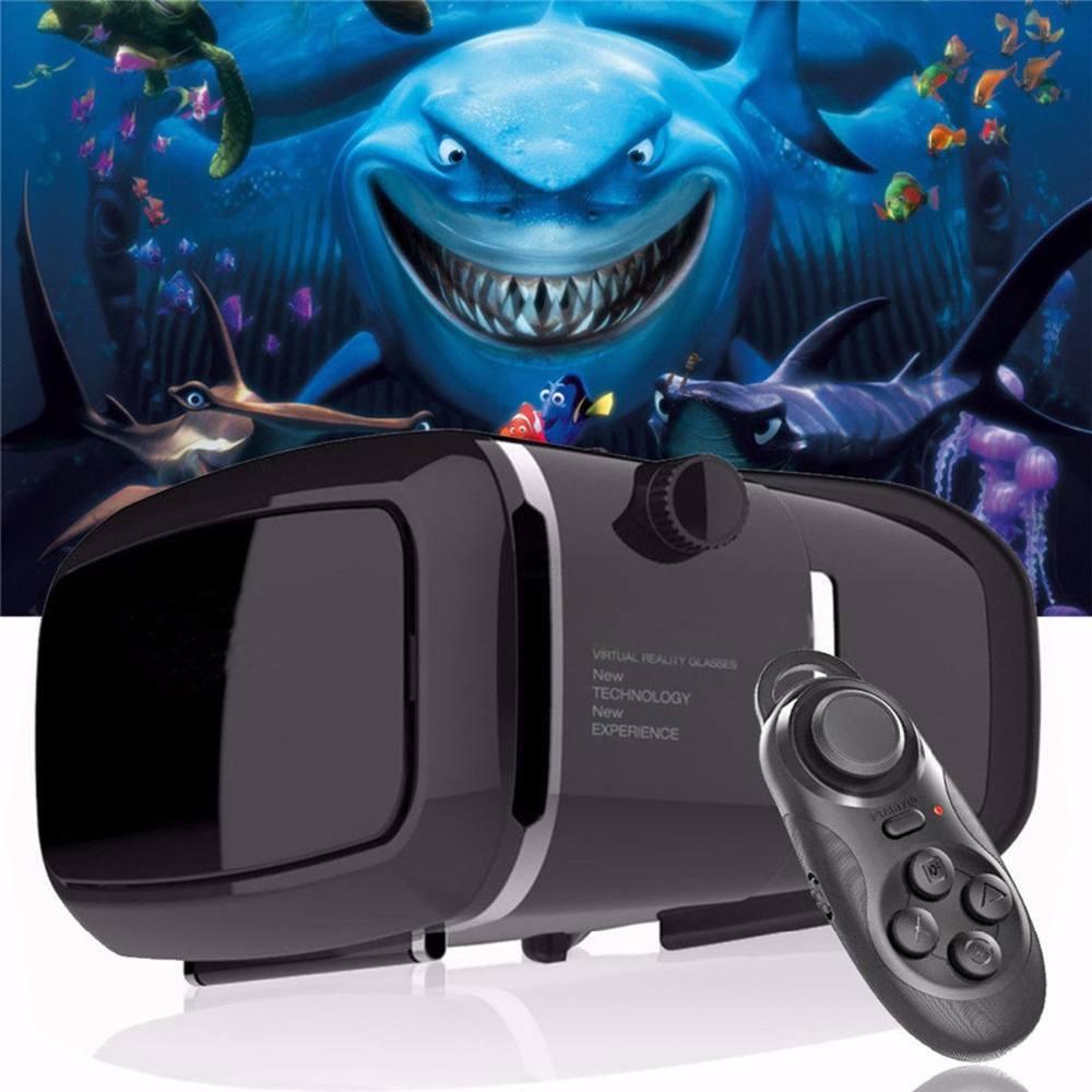 """Comercio al por mayor 3D VR Casco de Realidad Virtual 3D Movie Game Gafas Para 3.5 ~ 6.0 """"Teléfonos Inteligentes"""