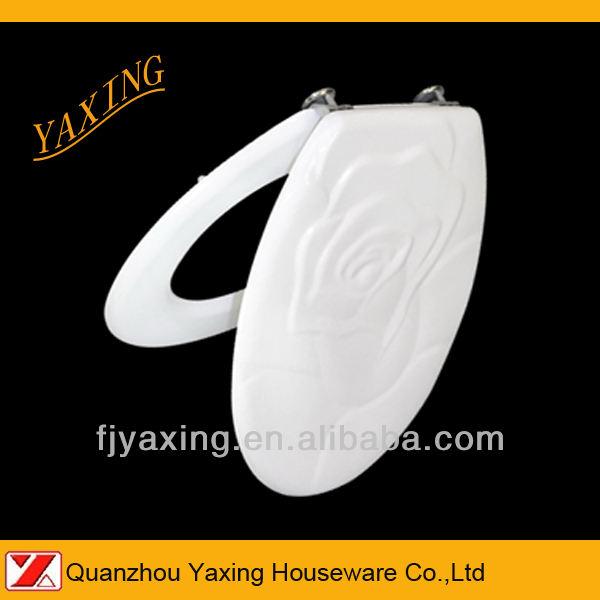 Yaxing moldado MDF F8086 subiu padrão tampas sanitárias