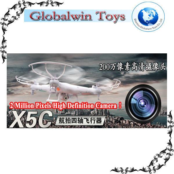 2014 topseller! Syma x5c 2 millones <span class=keywords><strong>de</strong></span> píxeles <span class=keywords><strong>de</strong></span> la cámara <span class=keywords><strong>de</strong></span> alta vs dji phantom 2 visión gps inteligente quadcopter <span class=keywords><strong>de</strong></span> avione