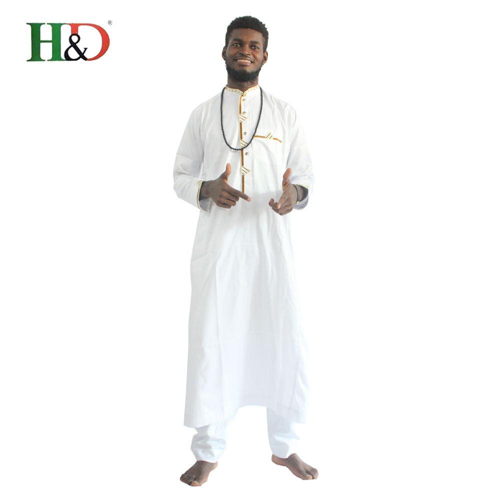 H & D горячие продажи завода лучшее качество красочные Формальные традиционные Африка халат Мужская одежда для Базен