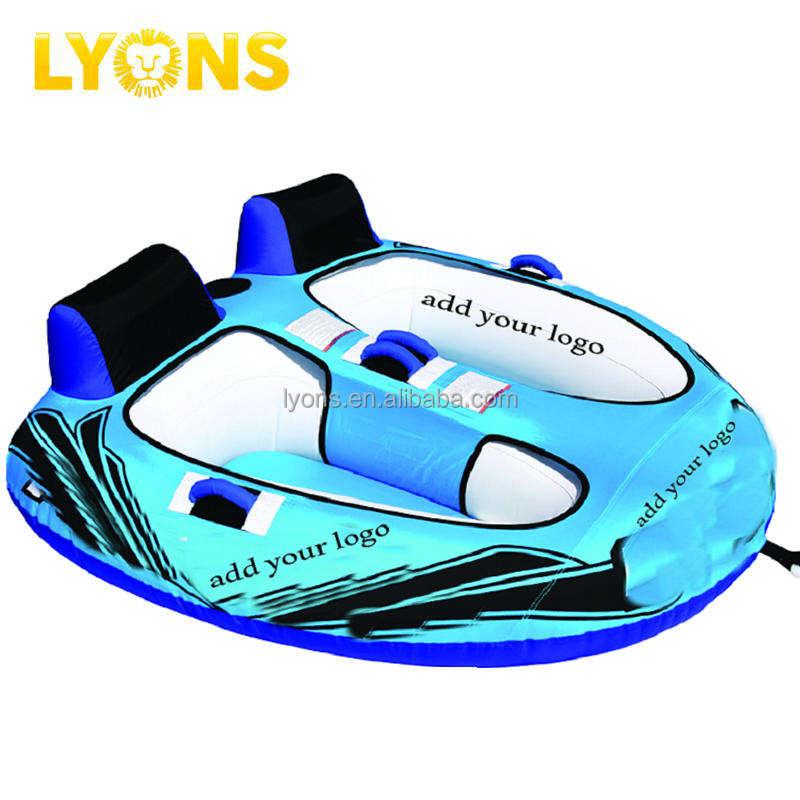 2 всадников летающие <span class=keywords><strong>towables</strong></span> и Lyons Реке Плывут труб надувные водные лыжи