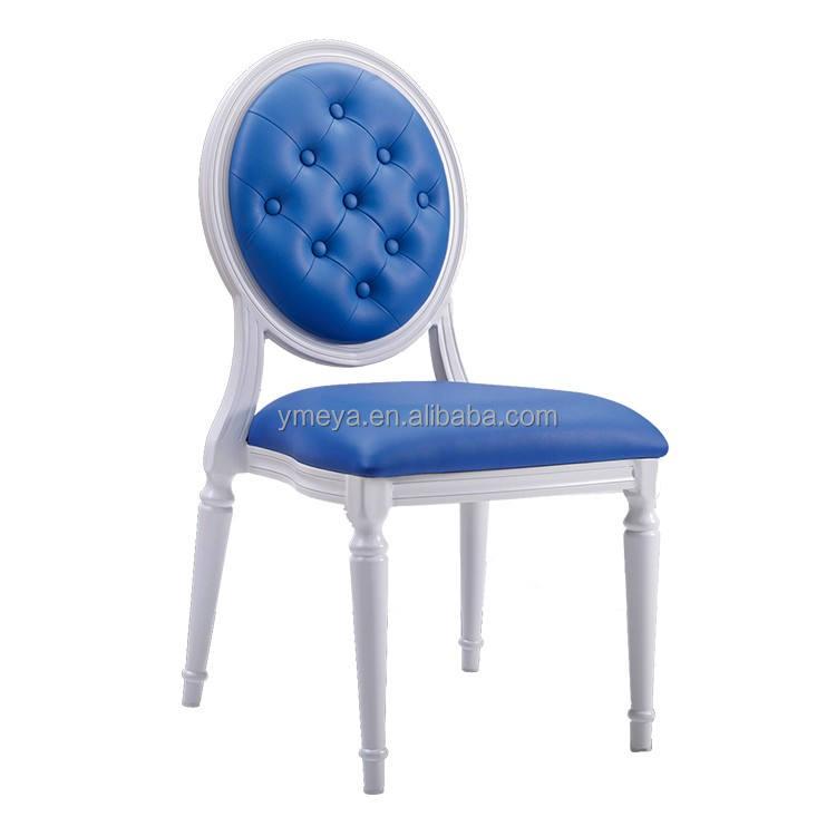 Muebles del hotel stackble boda de aluminio sillas de fantasmas