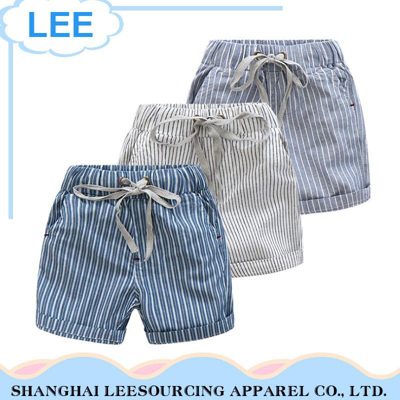 Мода хлопок Baby Boy короткие брюки шорты для детей
