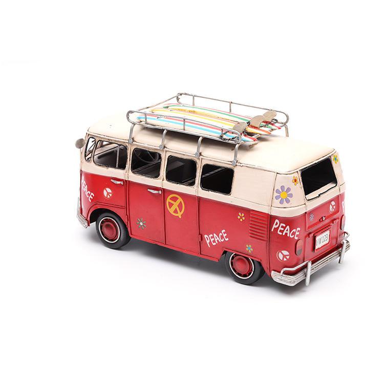 Thân thiện với môi tay sơn bề mặt kim loại tùy chỉnh xe buýt trường học đồ chơi cho trẻ em