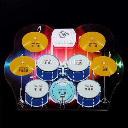 Durável Percussions 2015 <span class=keywords><strong>venda</strong></span> quente herói tambor Cymbal Set kit de bateria do roll up