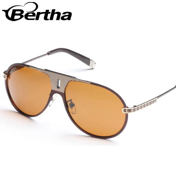 alta qualidade de óculos de sol safari design para o sexo masculino s103 moldura de bronze