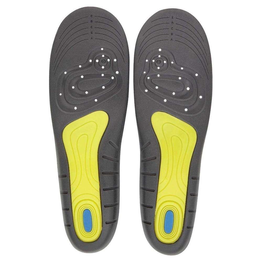 Gel Activ de espuma de memoria de plantillas de zapatos
