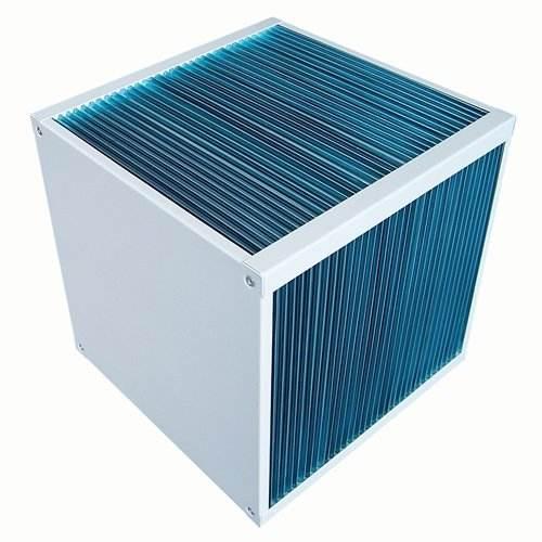 Aire-aire acondicionado placa intercambiador de calor