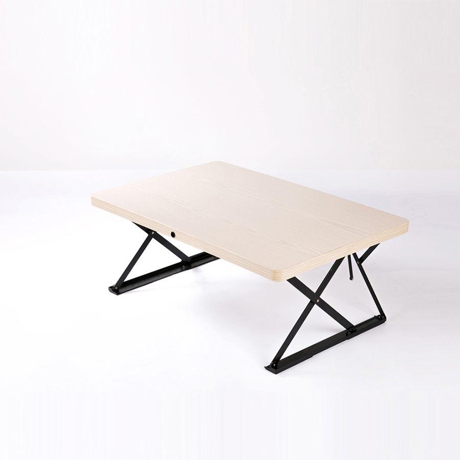 현대 높이 조절 수동 크랭크 노트북 접이식 리프팅 업 서 접이식 책상
