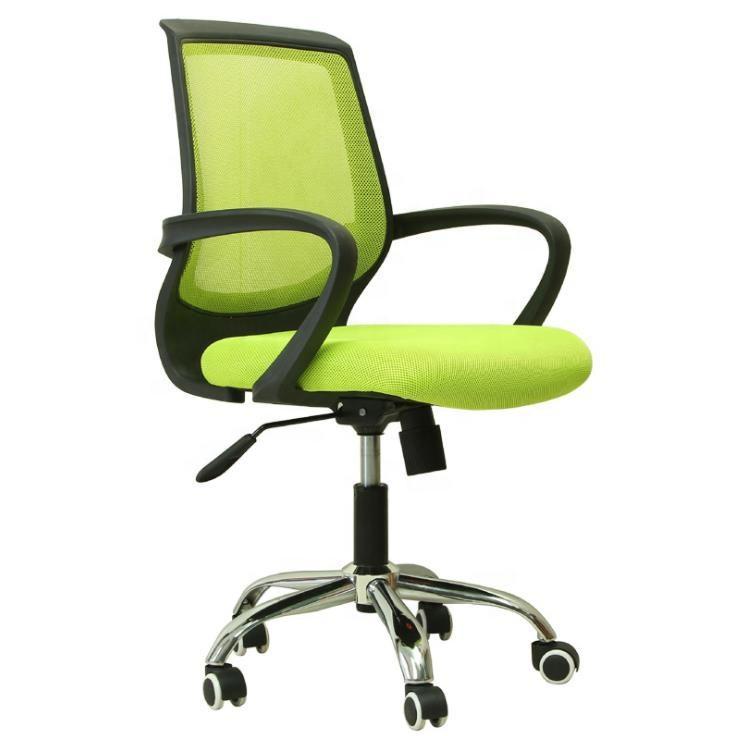 Meados do século moderno balanço cadeira do escritório executivo malha