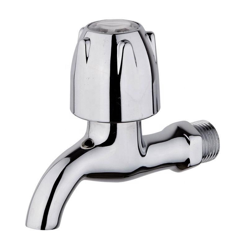 New Design Lower Price Top Polished ABS Handle Fast Open Brass Basin Faucet Water Tap