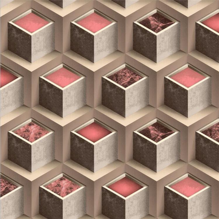 İstemi Teslimat Profesyonel Duvar Kağıtları/Duvar Kaplama Için 3D Çiçek Duvar Kağıdı Ev Dekor
