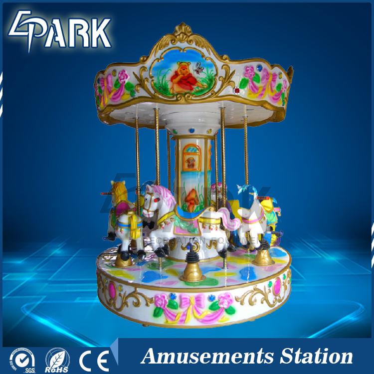 Mini Pferd Fahrten Karussell <span class=keywords><strong>Kreis</strong></span> Kinder spielen Indoor Spielplatz Spaß Ausrüstungen