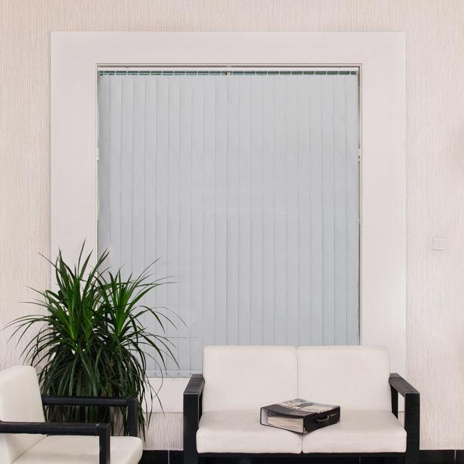 Оптовая цена офисные вертикальные жалюзи с яркими линиями