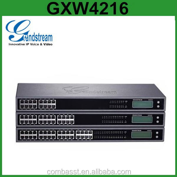 Grandstream GXW4216 24 32 48 FXS Analog <span class=keywords><strong>VoIP</strong></span> Gateway untuk PSTN IP PBX