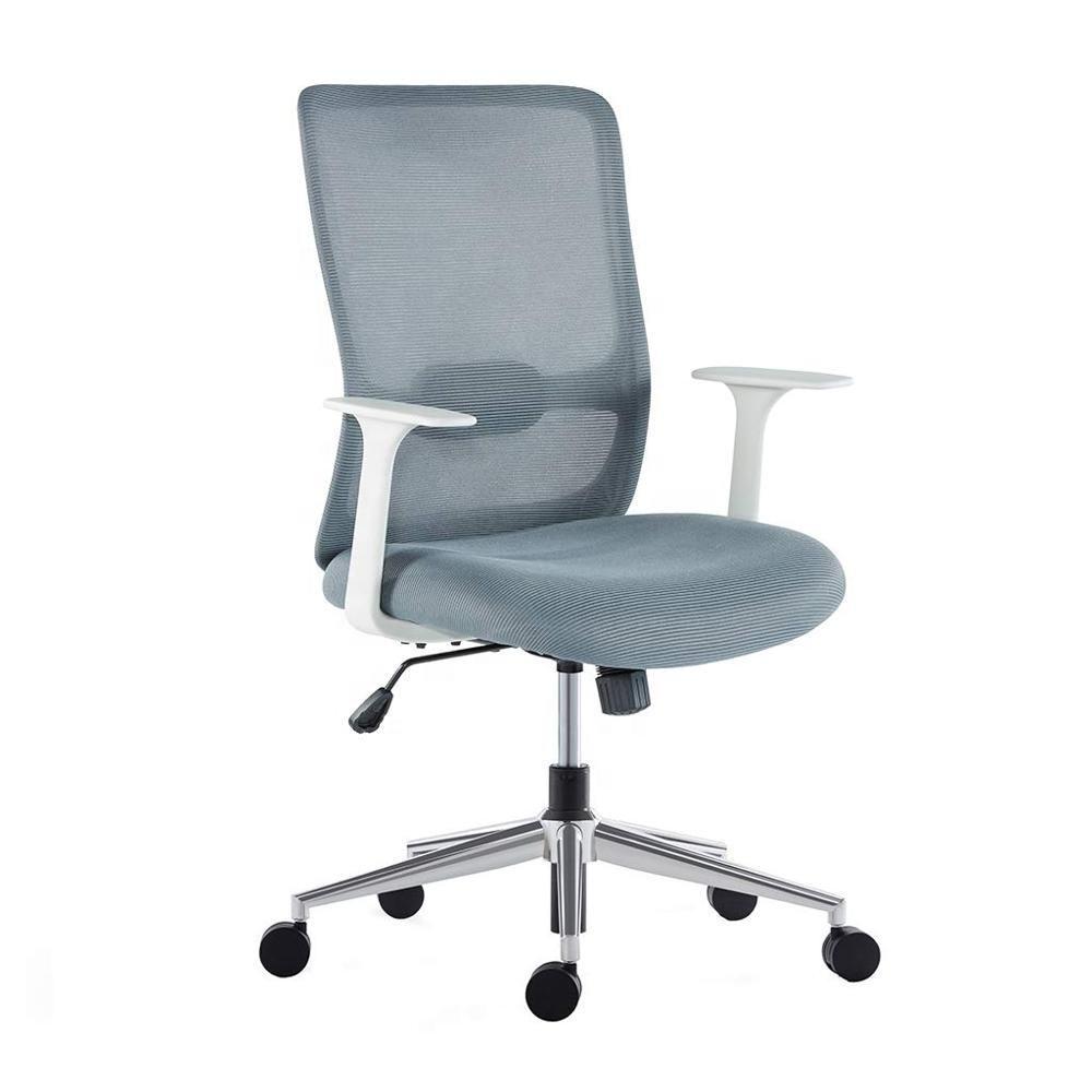Meados de malha de volta Apoio Lombar Ajustável assento do balanço da cadeira do escritório
