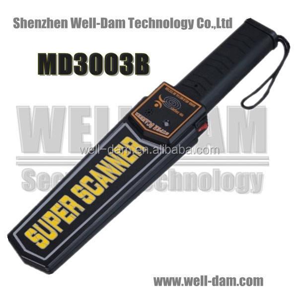 أمسك بيد معدنية الكاشف السعر md3003b قنبلة <span class=keywords><strong>سوبر</strong></span> سكانر للكشف عن المعادن