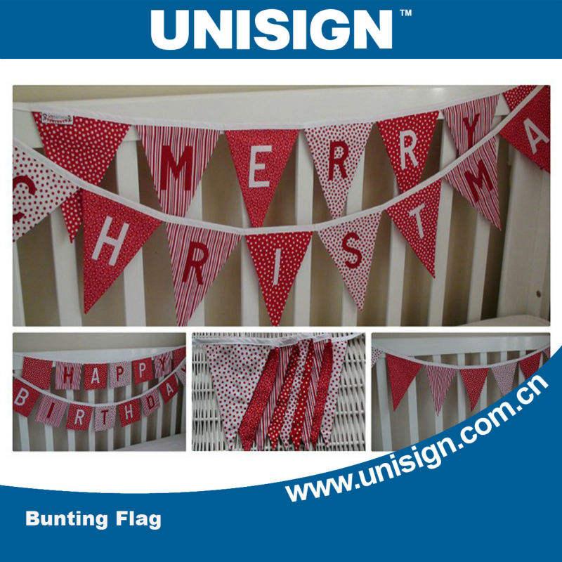 unisign подгонять роёдественских треугольник флаг бантинг