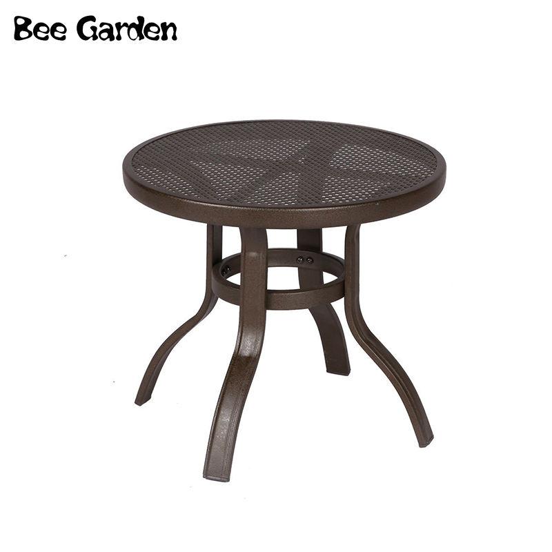 Elegante de lujoStrong y fácil de romper metal de jardín Sillas de mesa Conjunto de patio de yate balcón gazebo Muebles de hotel