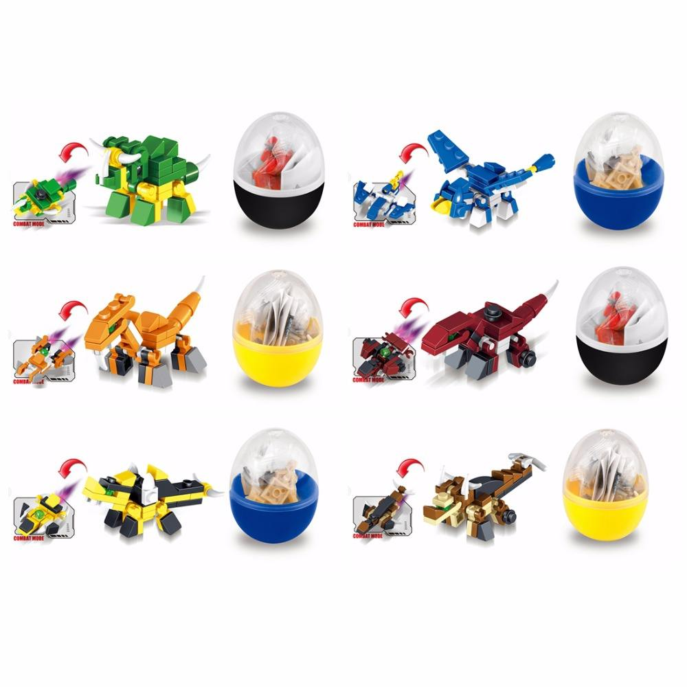 6 In 1 tier welt kid spielzeug sammlung <span class=keywords><strong>dino</strong></span> block <span class=keywords><strong>ei</strong></span> Paket