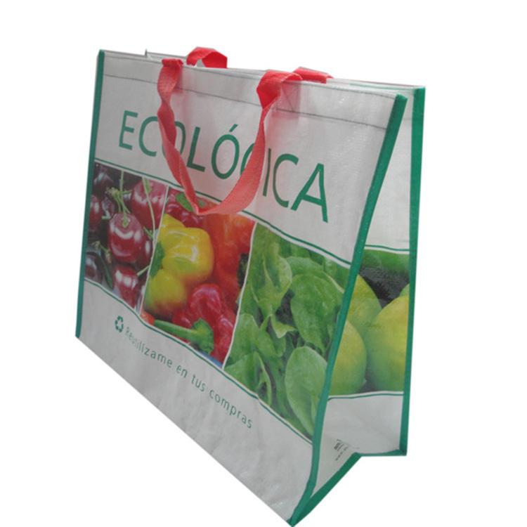 Da China grande qualidade e durável hot tecidos pp sacos de compras