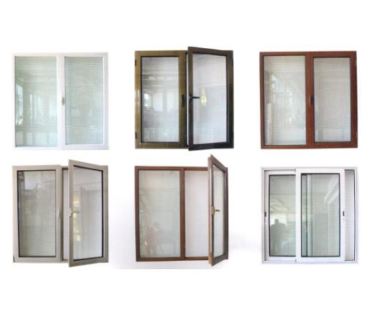 ventana pvc de la ventana El estilo abierto del oscilación y la ventana plástica del material del marco pvc