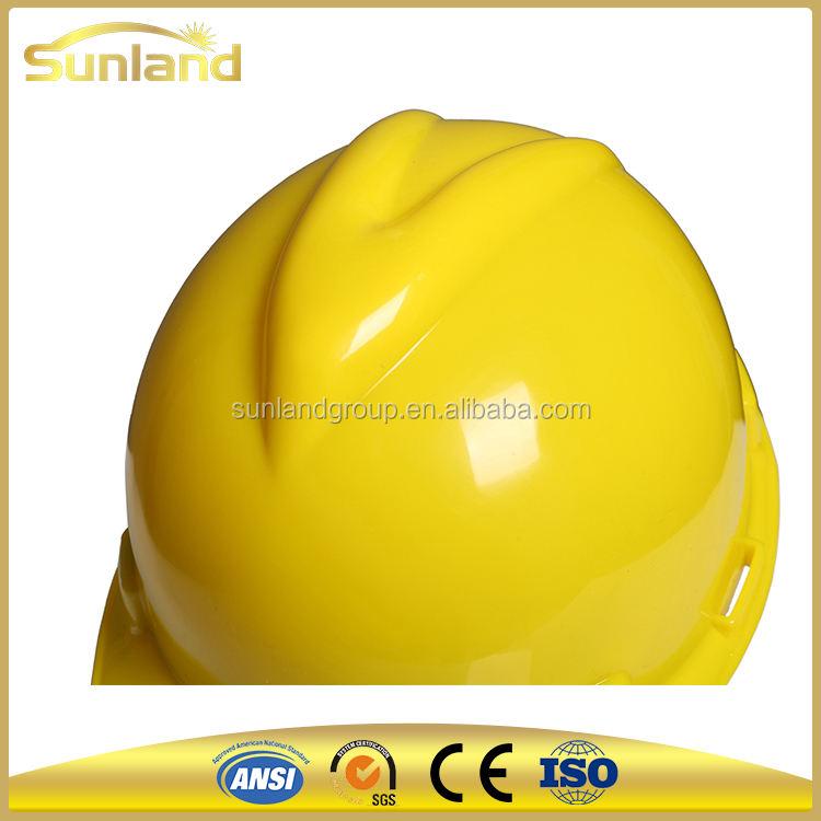 Компания широко использование безопасности горных шлем t, HDPE защитные каски