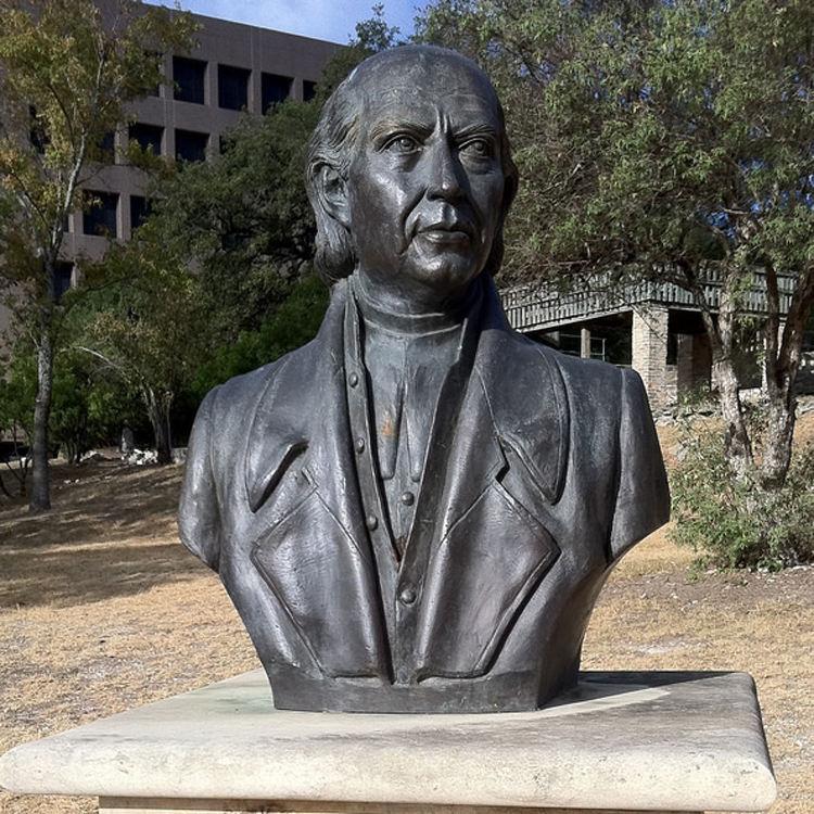 الفن الاستنساخ تماثيل في الهواء الطلق حديقة الذاكرة معدن البرونز تمثال نصفي ميغيل Hidalgo Costilla تمثال