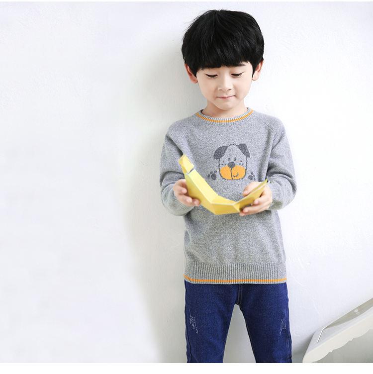 Новый дизайн детский трикотаж шерсть детские теплые свитера