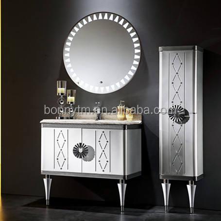 Kullanılan BONNYTM Fantezi <span class=keywords><strong>euro</strong></span> stil banyo vanity kabine ile iyi tasarımlar A-3841