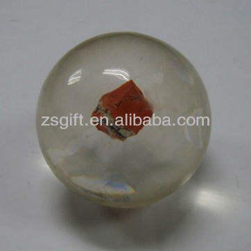 refinado handmade clara micro esferas de vidro decoração de casa