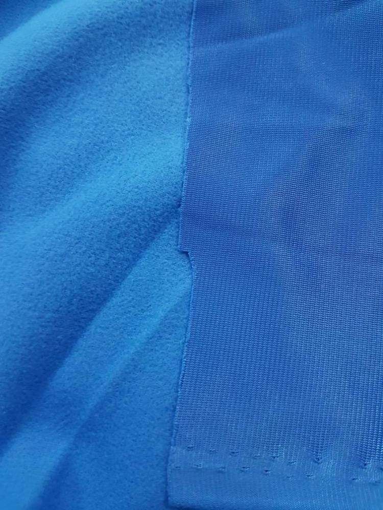 100% Polyester <span class=keywords><strong>Triko</strong></span> Fırçalanmış Örme Kumaş ile 170-290gsm