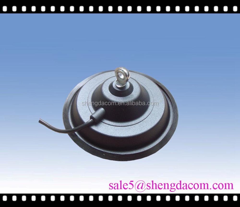 Diamètre 150 mm forte magnétique caoutchouc flexible mobile support voiture antenne avec câble RG58U connect PL259 SD150A