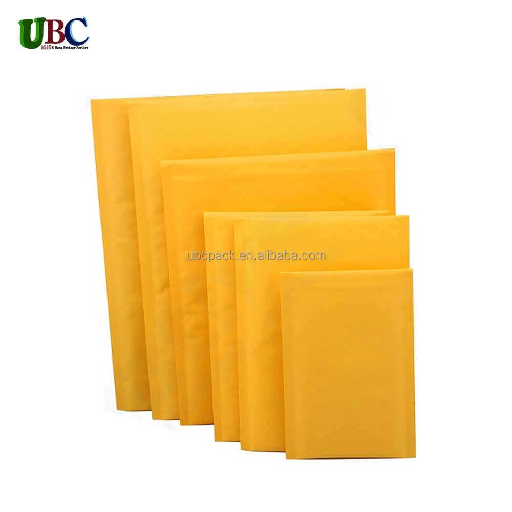 Oro marrón Jiffy acolchada de sobres forrados bolsa de correo Reino Unido LITE