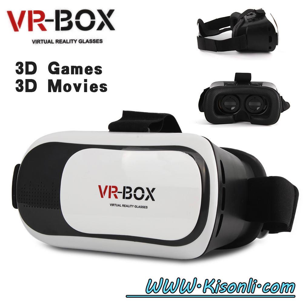O melhor presente de Plástico 3D do google óculos de realidade virtual VR fone de ouvido suporte 4-5.5 telefone inteligente
