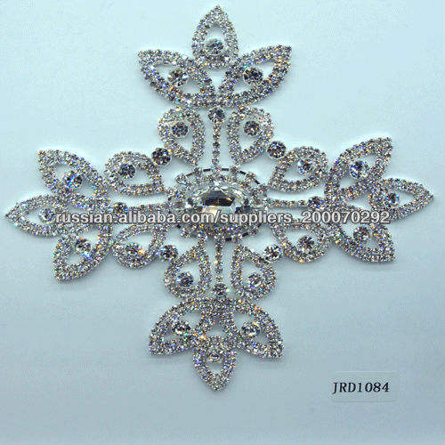 пряжка модная с алмазом