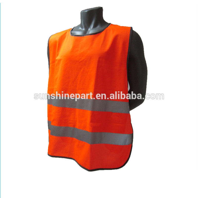 Orange Reflex reflektierende sicherheitsgurten sicherheitsweste