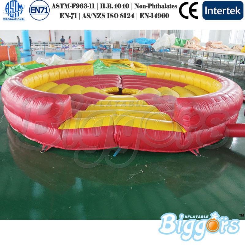 Barato Mechanical touro Rodeo colchão inflável