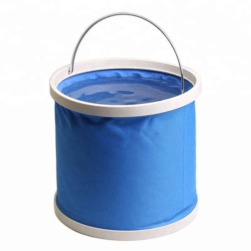 outdoor travel foldable ice bucket fishing car wash bucket