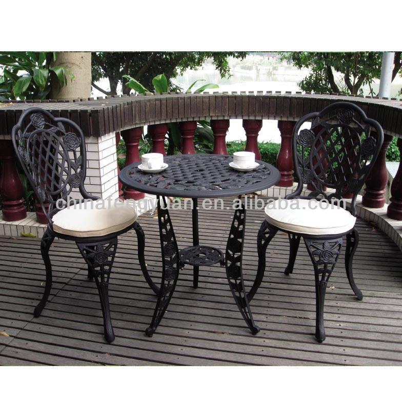 alibaba cina fabbrica di mobili per esterni uso generale e set da giardino uso specifico ghisa tavolo e sedia da giardino