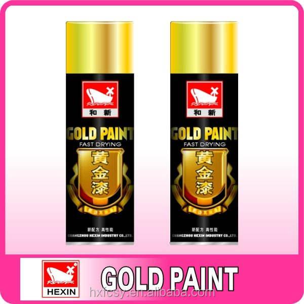 Золотая краска золотой <span class=keywords><strong>лак</strong></span> распыления в баллончиках