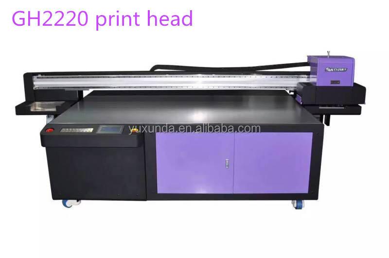 Grande formato 3 m * 2 m UV printig macchina con GH2220 printerhead FAI DA TE usb <span class=keywords><strong>flash</strong></span> driver prezzo della stampante