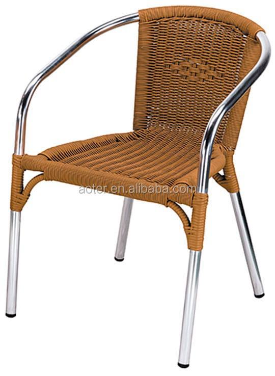Comedor <span class=keywords><strong>Ratan</strong></span> silla para el jardín usando