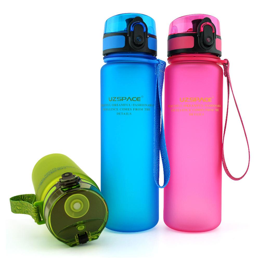 500 мл Тритан BPA бесплатно студент бутылка воды