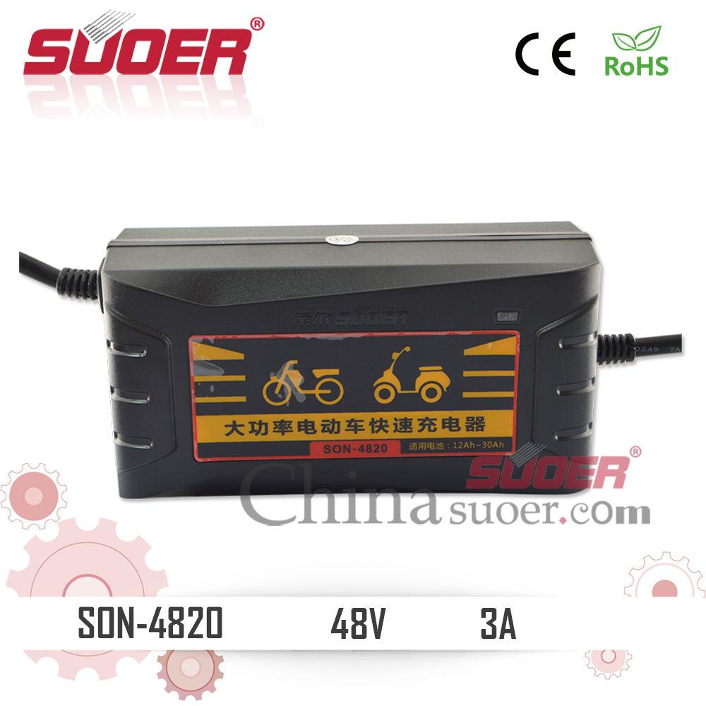 Suoer 48 V alta potencia inteligente cargador <span class=keywords><strong>rápido</strong></span> cargador de batería eléctrica de la bici