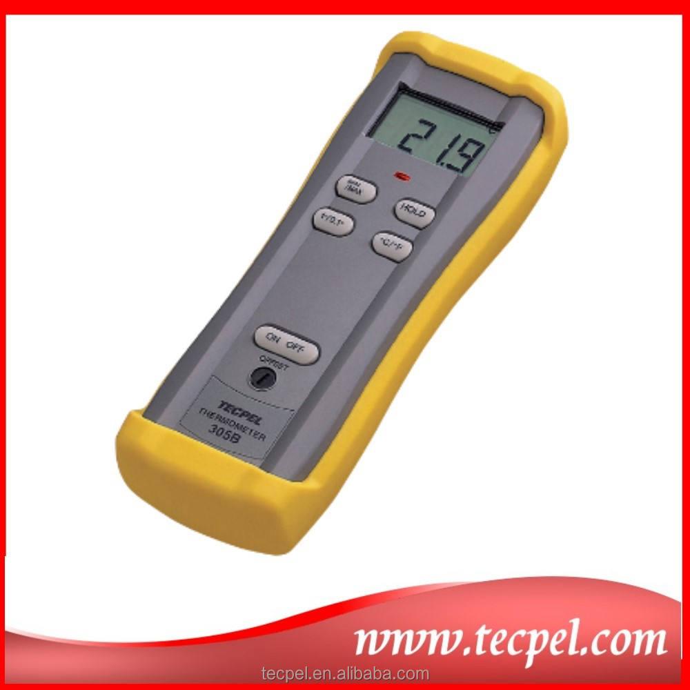 Dtm-305b medidor Digital de temperatura con termopar tipo K del grano sonda