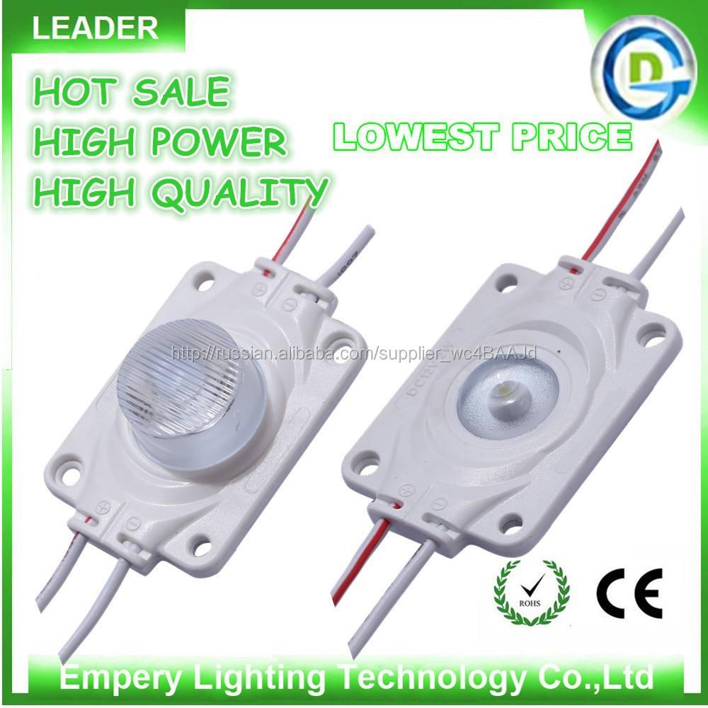 Superflux водонепроницаемый 3 Вт 1 Вт высокой мощности из светодиодов модуль с линзой