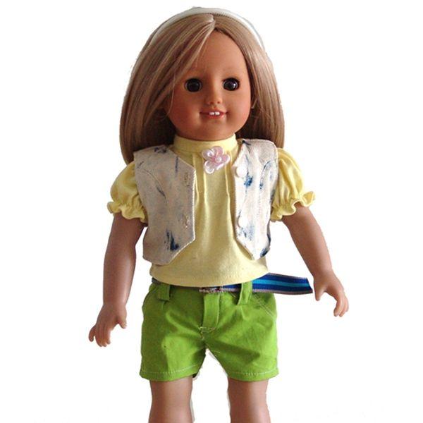 Alibaba <span class=keywords><strong>Website</strong></span> große Augen 18-Zoll-amerikanische Mädchen-Puppe mit Kleidung Modepuppe