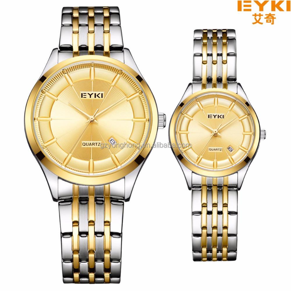 Оптовая кварц леди сплава пара украсить ваши собственные часы человек наручные часы